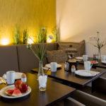 Frühstücksraum Hotel Tide42 Borkum