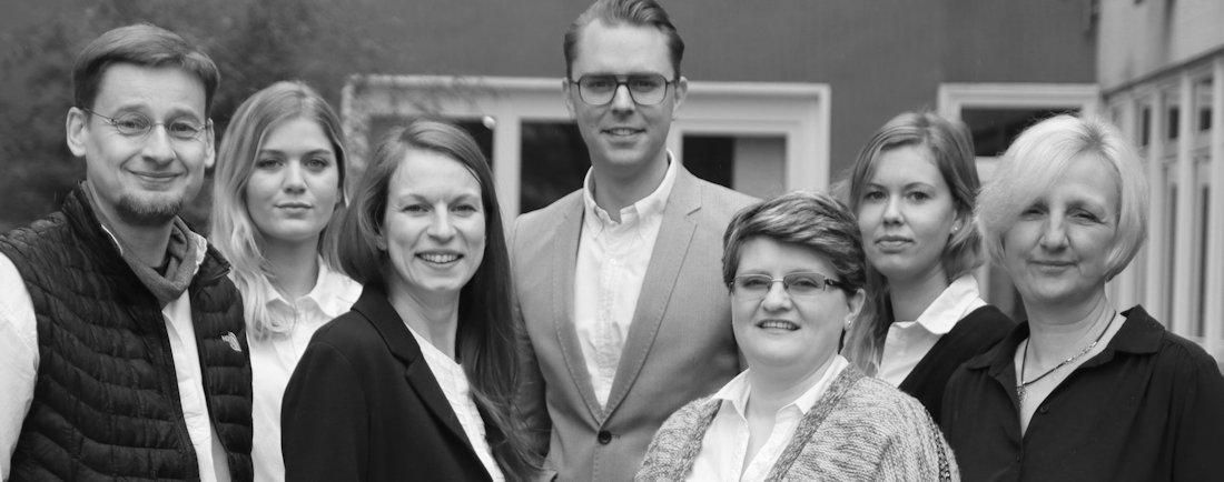 Team im Hotel Tide42 auf Borkum
